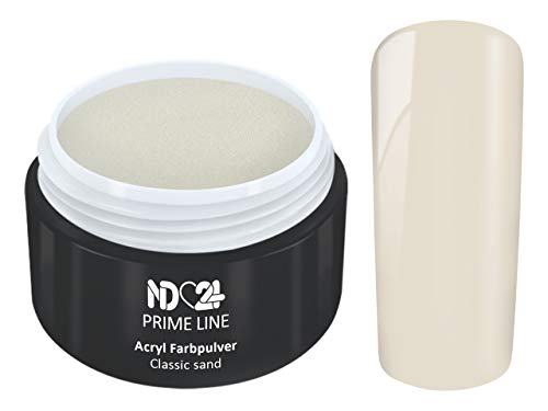 5G - PRIME LINE - ACRYL FarbPulver SAND BRAUN BEIGE - Feinstes FARB Acryl-Puder Acryl-Pulver Acryl-Powder - STUDIO QUALITÄT
