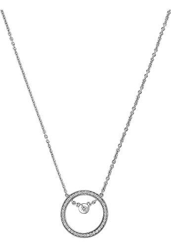 JETTE-Silver-Damen-Kette-925er-Silber-42-Zirkonia-silber-One-Size