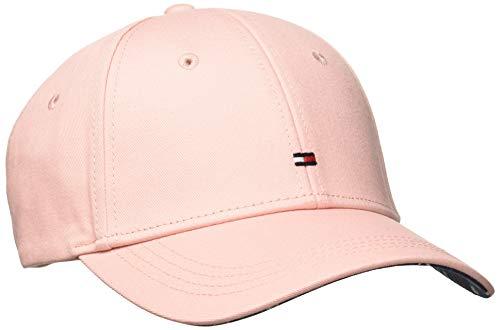 Tommy Hilfiger Damen Classic BB Baseball Cap, Rosa (Silver Pink 655), One Size (Herstellergröße: OS)