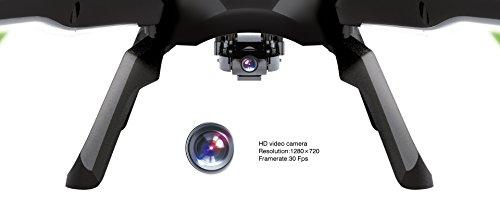 s-idee 01217 Quadrocopter U842 HD KAMERA 4.5 Kanal 2.4 Ghz Drohne mit Gyroscope Technik Akkuwarner - 4