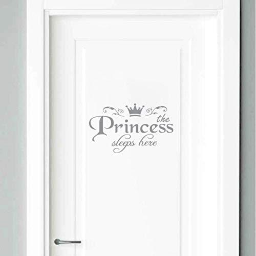 YWLINK Princesa DecoracióN para El Hogar Etiqueta De La Pared CalcomaníA Dormitorio...