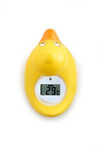 Rotho Babydesign 20430 Digitales Badethermometer, gelb