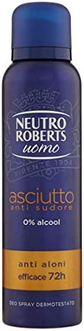 Neutro Roberts Déodorant Homme Sec Anti-transpirant - 150 ml