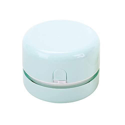 Unbekannt Staubsauger Handstaubsauger Tischreiniger Staubsauger Radiergummi Chipper (2 Farben) Handstaubsauger (Farbe : Green)