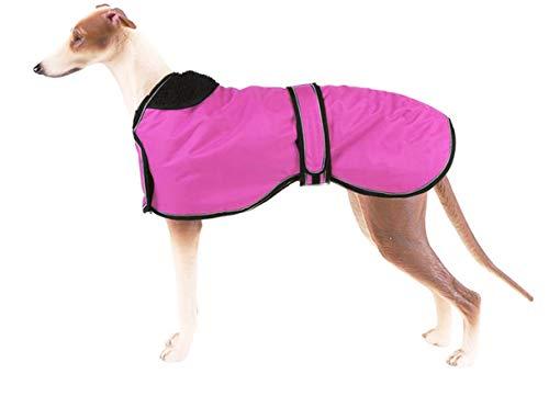 Pethiy wasserdichte Hundejacke für den Winter, mit warmem Fleece-Futter, für den Außenbereich, mit verstellbaren Bändern für mittelgroße und große Hunde