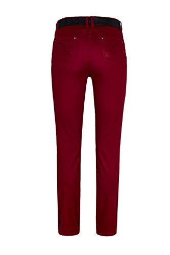 WomensBest Damen Jeans Rom light merlot red