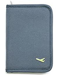 Okayji Travel Passport Cover Holder, Grey