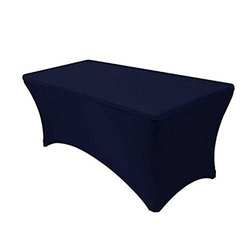 GFCC Tischdecke für Hochzeit, Party, Restaurant, Bankett, 244 cm, königsblau, 8FT Tablecloth -
