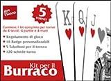 Il kit per Burraco
