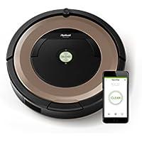 IRobot Roomba 895 Saugroboter (hohe Reinigungsleistung, keine Verhedderungen und mit Dirt Detect, reinigt alle Hartböden und Teppiche, ideal bei Tierhaaren, WLAN-fähig) kupfer