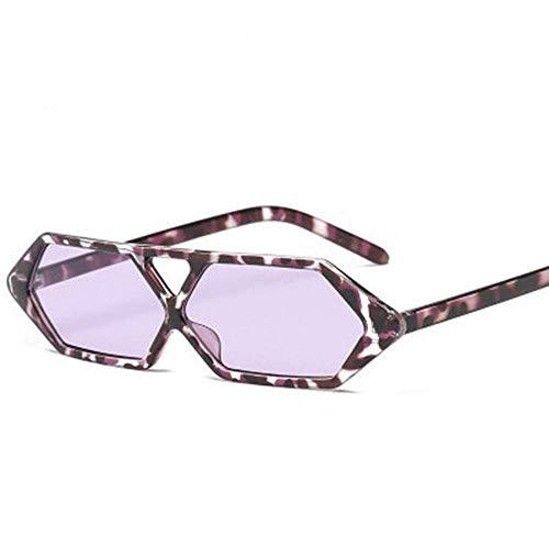 YSA Sonnenbrillen Kleine Sonnenbrillen Rechteckige Damen Geschenk Platz Tierauge Sonnenbrille Weibliche Männer