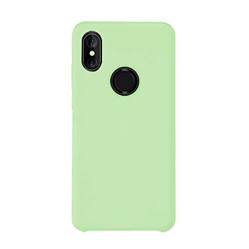 Funda Xiaomi Mi Mix 2S Teléfono Móvil Silicona Bumper Case y Flexible Resistente Ultra Slim Anti-Rasguño Protectora Caso para Xiaomi Mix 2 (Mint Green, Xiaomi Mi Mix 2S)