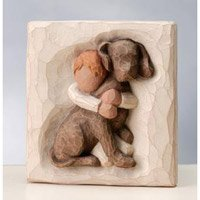 Hug Plaque 26513 by Willow Tree by Willow Tree