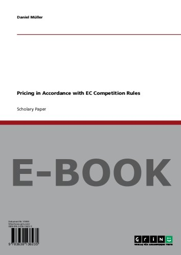 Pricing in Accordance with EC Competition Rules
