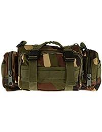 Banggood ELECTROPRIME Military Tactical Waist Pack Outdoor Shoulder Hand Bag Camping Jungle Camo