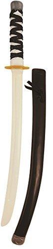 a Schwert Stick & Mantel Kostüm Kleid Outfit Toy Zubehör - Schwarz ()
