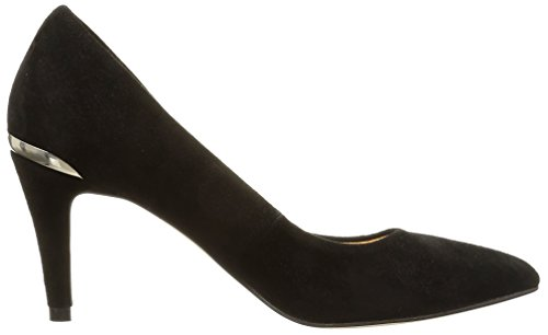 JONAK - 277-aysha, Scarpe col tacco Donna Nero (Noir (Velours/Noir))