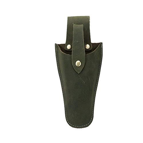 QEES Leder Etui Werkzeug Holster Gürtel Halter Garten-Tasche für Zange, Beschneiden Scheren, Gartenschere, Schere oder Garten Messer Leder Holster jdb01