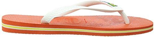 Logotipo Laranja Brasil Trenner Havaianas Dedos adult Unisex qwBxg7I