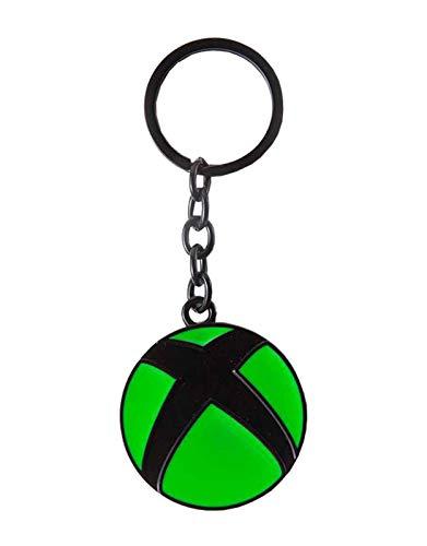 Xbox Logo Metal Pendant Keyring Schlüsselanhänger 16 Centimeters Schwarz (Black)