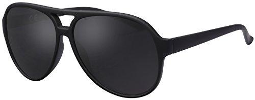 La Optica Sonnenbrille Original UV400 Unisex Retro Pilot - Farben, Einzel-/Doppelpacks, Verspiegelt...