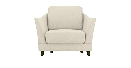 FabHomeDecor Clint Arm Chair (Cream)
