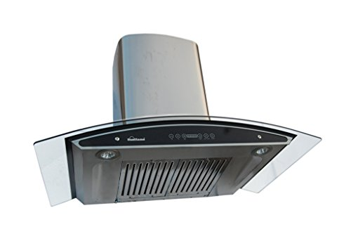 Sunflame Innova 90 Auto Clean Chimney (Silver 3times Suction Power)