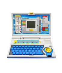 English Learner Educational Laptop for Kids with 20 activities, Multi Color