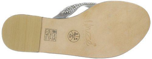 Unze Evening Slippers, Sandali donna Argento (Silber (L18328W))
