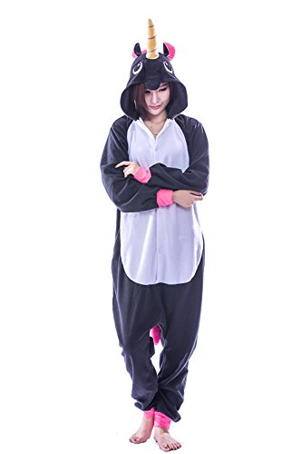pyjama licorne pyjama licorne adulte kigurumi combinaison animaux unicorn maillots de bain. Black Bedroom Furniture Sets. Home Design Ideas