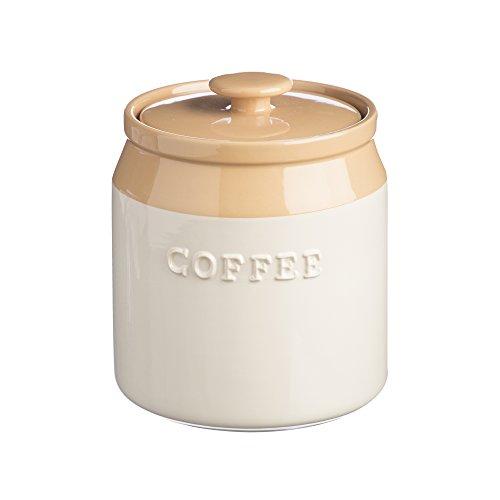 Mason Cash Kaffeedose - Küchendose - Farbe: beige/creme - luftdichter Deckel - Ø 13 cm - Höhe 15...