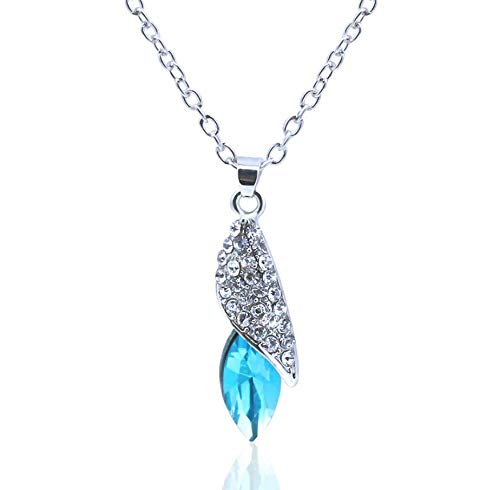 Your boy-HT Austrian Crystal Sugar Treasure Necklace Desert Star Pendant Exquisite and Simple, Stylish and Versatile