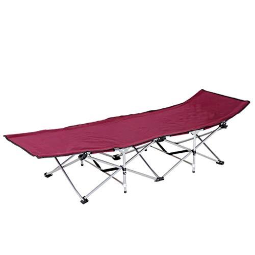 JZBar Deckchairs Beiläufiger faltender Breathable Mittagspauseklubsessel Einzelner einfacher Büro-Nickerchenbett faltendes Bettgröße: 190 * 67 * 35cm (Farbe : E)