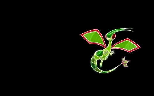 Anime black flygon pokemon pictures Wall Poster Paper Print Wall Poster Print on Art Paper 13x19 Inches  available at amazon for Rs.187