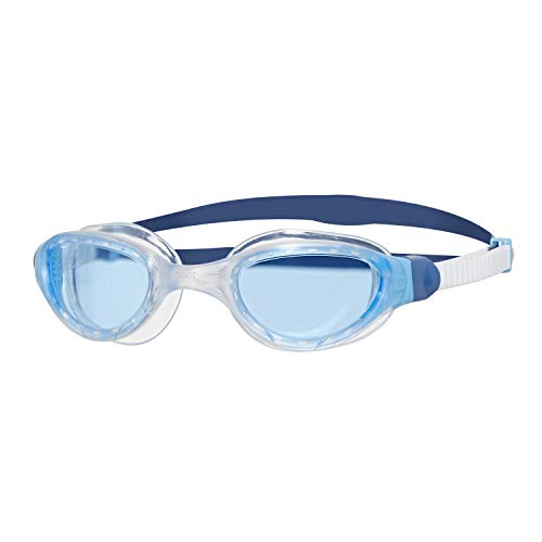 Zoggs Phantom Curve 2.0 Gafas de natación, Unisex Adulto, White/Blue/Tint, Talla única