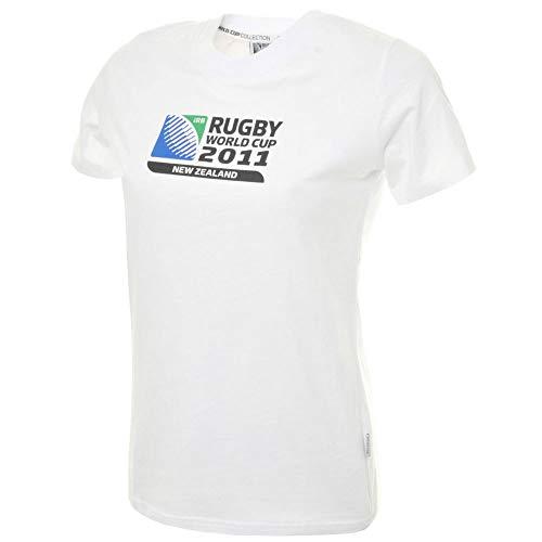 CCC Rugby World Cup 2011 Women's Logo T-Shirt [White]-Women's UK 10 - Womens UK 10 - Canterbury Damen Rugby