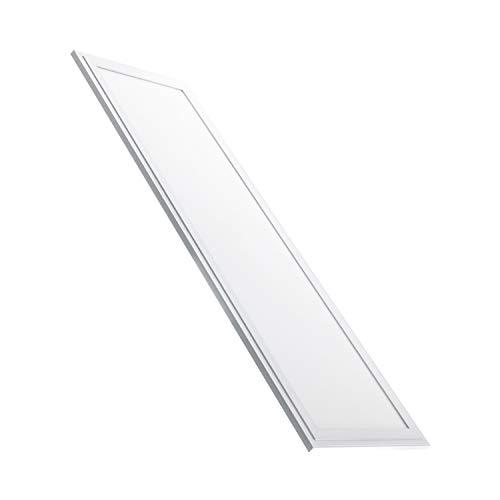 Pannello LED Slim 120x30cm 40W 5200lm High Lumen Bianco Caldo 2800K-3200K
