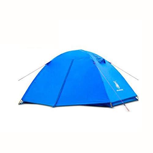 SSKD Doppel-Familienzelt, Outdoor-Doppel-Campingzelt, Camping Zubehör