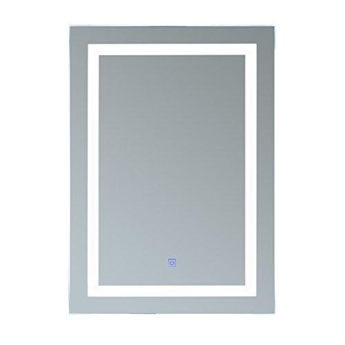 Homcom® Luz Espejo LED Espejo de baño espejo espejo de pared (modell1/60x 80x 4cm)