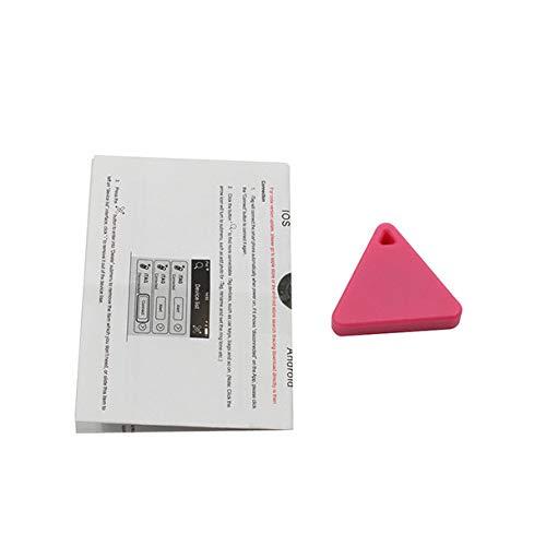 fang FANS Neue Bluetooth Smart Mini GPS Tracker Kinder Haustiere Brieftasche Schlüssel Alarm Locator Echtzeit Alarmr Schlüsselsucher (Red)