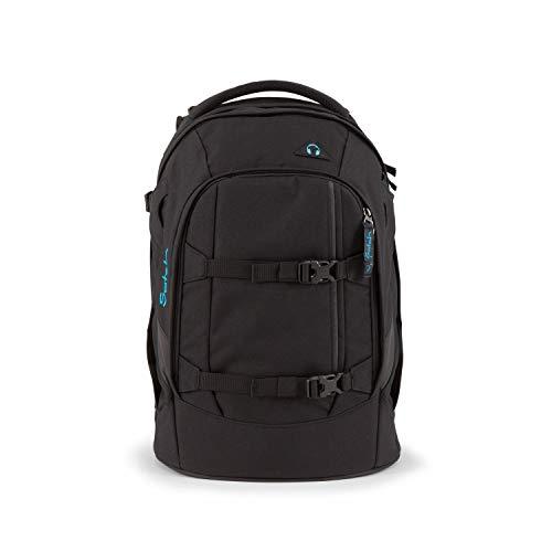 satch Pack ergonomischer Schulrucksack für Mädchen und Jungen - Black Bounce
