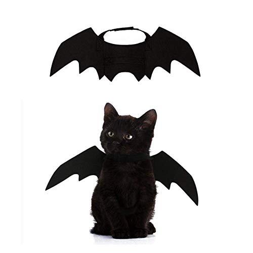 (LEACK Haustiere Cats bat Wings Halloween PET bat Kostüm Hunde verwandeln Kleidung niedliche Halloween-Dekor)