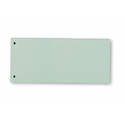 Trennstreifen, 10,5x24cm, grün, 190g Karton, 100St