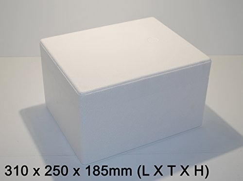 Styroporkisten / Styroporbox / Thermobox 310 x 250 x 185mm