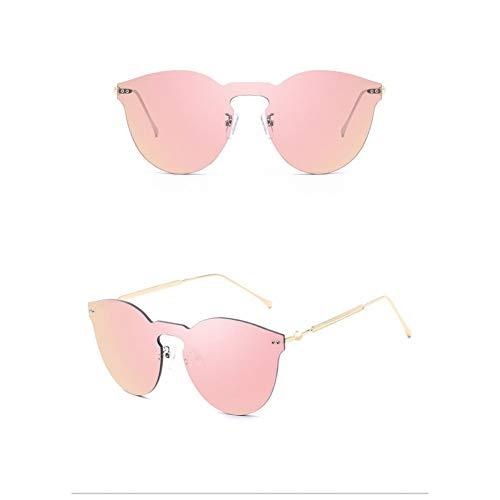 Kjwsbb Sonnenbrillen Damen Square Frame Herren Sonnenbrille Siamese Flat Lenses Vintage Ladies Sonnenbrille