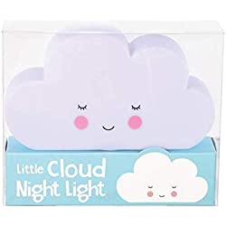 Lámpara quitamiedos nube blanca