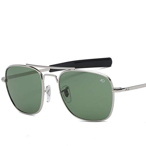 Art- Und Weiseluftfahrt-Sonnenbrille-Mannluxusmarken-Entwerfer-Sonnenbrille For Männliche Linse Oculos Des Optischen Glases (Lenses Color : 8054 C3)