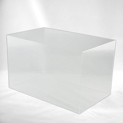 Hansen Haube Acryl / Schaukasten / Ausstellungshaube / Acrylhaube / Objektvitrine / Abdeckhaube / Showcase rechteckig, in verschiedenen Größen