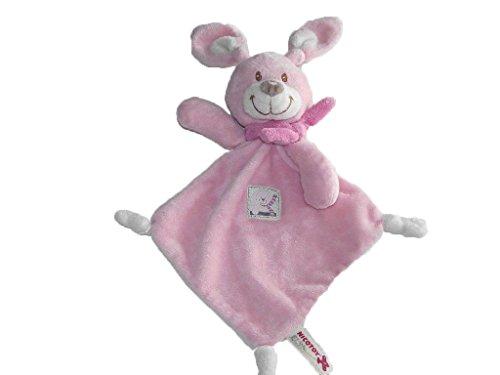 Kiabi–Doudou Nicotoy kitchoun Kiabi conejo plana rosa...