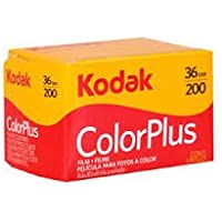 Kodak Color Plus 200 colour negative film 35mm - 36 exposure (single roll)